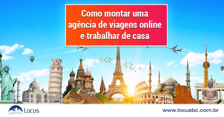 Como montar uma agência de viagens online e trabalhar de casa